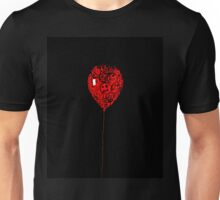 Button Balloon 1/3 Unisex T-Shirt