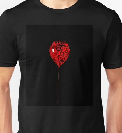 Button Balloon 1/3 Unisex T-Shirt