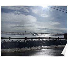 Misquamicut, Rhode Island,  Winter 2015 -2 Poster