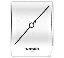 Original Volvo 1927 Logo Poster