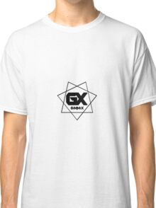 GiMMiX Logo/Vector (Black on White) Classic T-Shirt