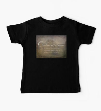 God Grant Me The Serenity Nature Scene Baby Tee
