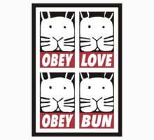Obey Love Obey Bun One Piece - Long Sleeve