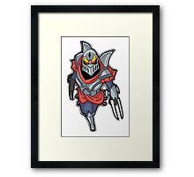 Chibi Zed League of Legends Framed Print