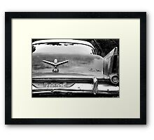 Beautiful Car Wreck near 100 mile House in BC, Canada Framed Print