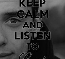 Logic x Keep Calm  by VickyVickDesign