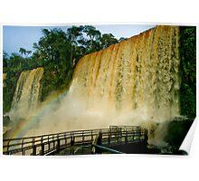 Iguazu Falls, Argentina Poster