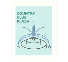 Kansas City Country Club Plaza  Art Print