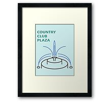 Kansas City Country Club Plaza  Framed Print