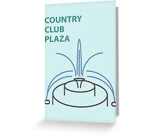 Kansas City Country Club Plaza  Greeting Card