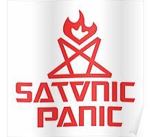 Satanic Panic Logo Poster