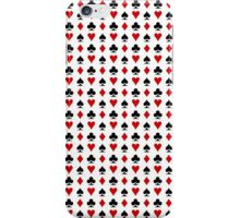 poker cards symbol iPhone Case/Skin