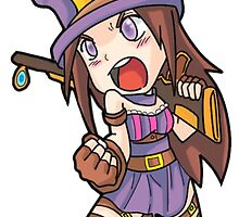 Caitlyn Chibi League of Legends by dardarius