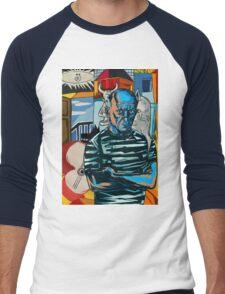 Picasso Men's Baseball ¾ T-Shirt