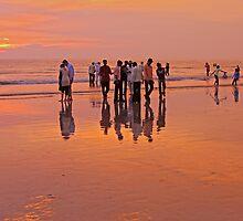 Juhu Beach, Mumbai by David Clark