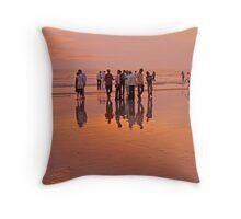 Juhu Beach, Mumbai Throw Pillow
