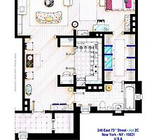 Carrie Bradshaw apt. (Sex and the City movies) by Iñaki Aliste Lizarralde