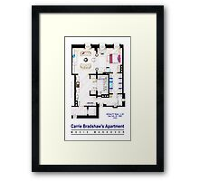 Carrie Bradshaw apt. (Sex and the City movies) Framed Print