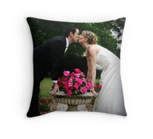 The Kiss Throw Pillow
