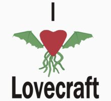 I Love Lovecraft One Piece - Short Sleeve