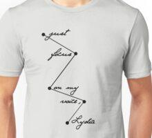 Stydia - Focus on my voice. (BLACK) Unisex T-Shirt