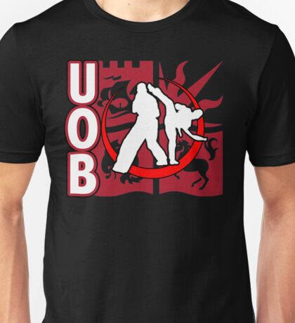 OUB KICKBOXING LOGO Unisex T-Shirt