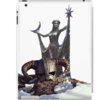 Skyrim helm iPad Case/Skin