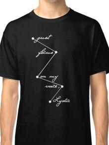 Stydia - Focus on my voice. (WHITE) Classic T-Shirt