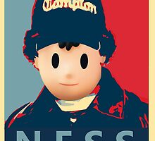 Ness Leaves Onett For a Different Hood by BTick21