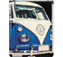 VW Bus Cool Blue iPad Case/Skin