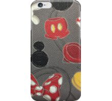 Dooney and Bourke Mickey Body Parts iPhone Case/Skin