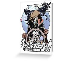 Space Pirate 03 Greeting Card