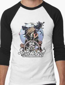 Space Pirate 03 Men's Baseball ¾ T-Shirt