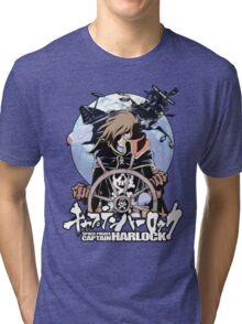 Space Pirate 03 Tri-blend T-Shirt