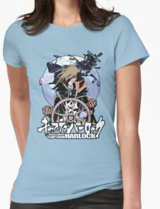 Space Pirate 03 Womens Fitted T-Shirt