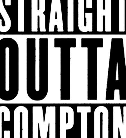 Straight Outta Compton Sticker