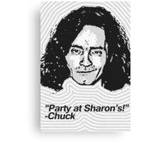 Anti-Icons: Charles Manson Canvas Print