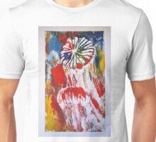 jellyfish on the rainbow Unisex T-Shirt