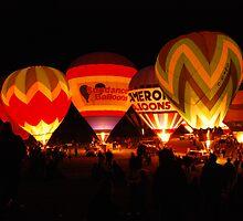 Night Balloons by DAltman