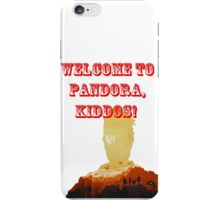 Welcome to pandora iPhone Case/Skin