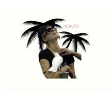 HEALTH Art Print