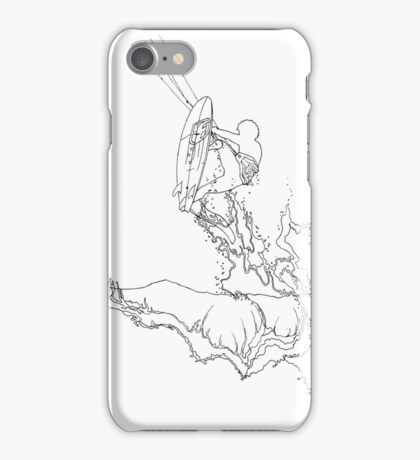 kitesurfing #9 iPhone Case/Skin