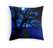 Apparition In The Night Throw Pillow