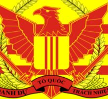 War Flag of South Vietnam Sticker