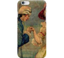Romantic Meeting iPhone Case/Skin