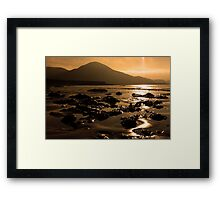 Lohar Beach Co Kerry Ireland Framed Print