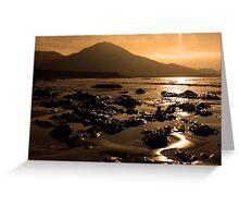 Lohar Beach Co Kerry Ireland Greeting Card