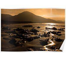 Lohar Beach Co Kerry Ireland Poster