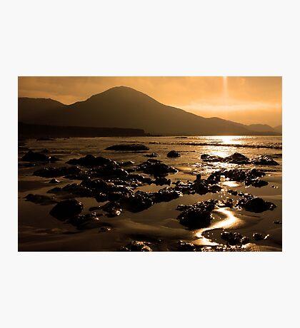 Lohar Beach Co Kerry Ireland Photographic Print