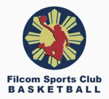 Filcom Sports Club Basketball Logo 2 by discoden